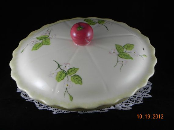 COVERED PIE DISH by HiattHousePottery on Etsy, $85.00