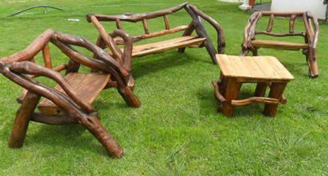 Muebles r sticos artesanales archivos zumadia - Muebles artesanales de madera ...