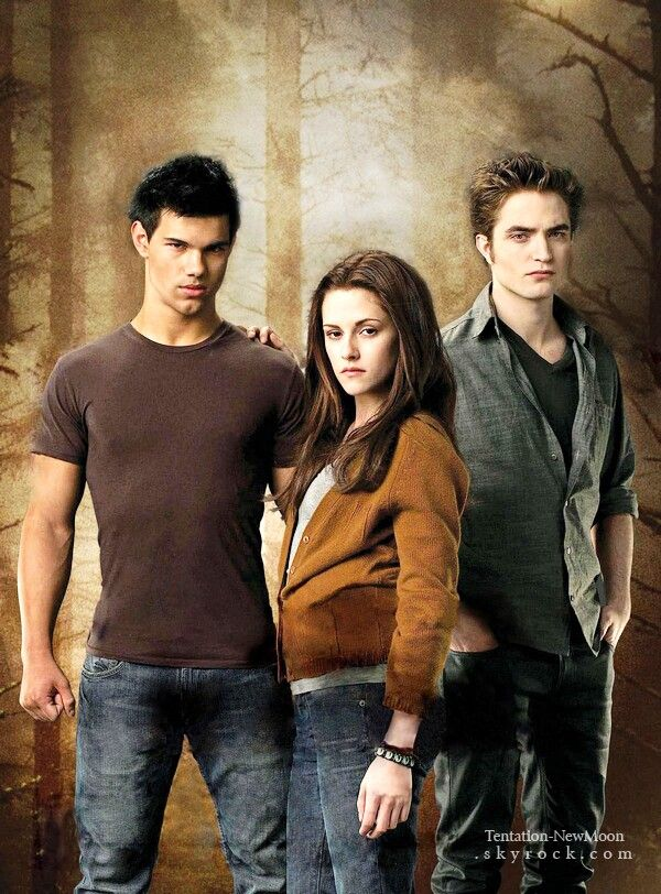 Bella, Edward & Jacob [New Moon]   Books To Films   Twilight