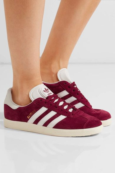 adidas originals : baskets en daim & en cuir gazelle