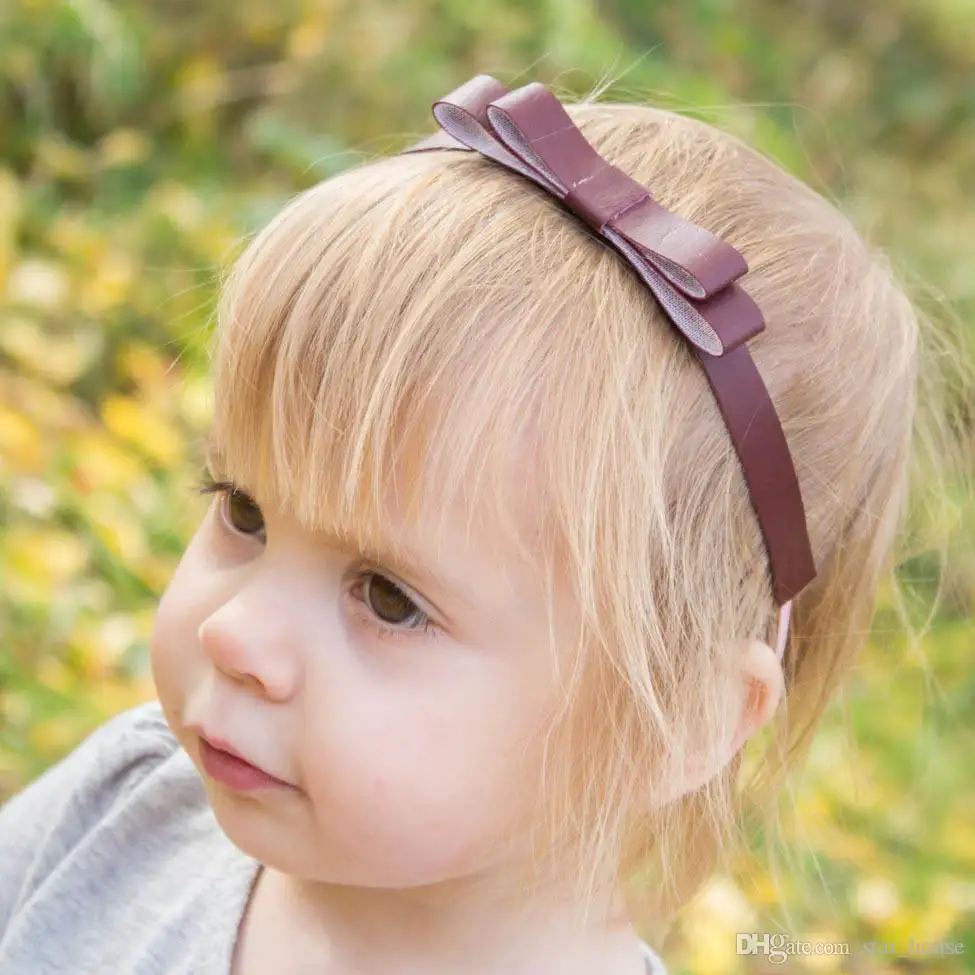 افضل زيت للشعر الجاف والمجعد موقع عيادة اﻷطفال Hair Band Accessories Knot Headband Girls Bows