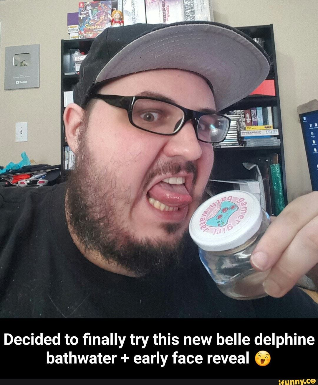 Decided to finally try this new belle delphine bathwater