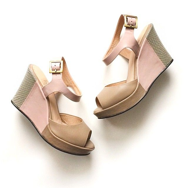 Love conquers all. Fiorela wedges available at www.fortressofinca.com