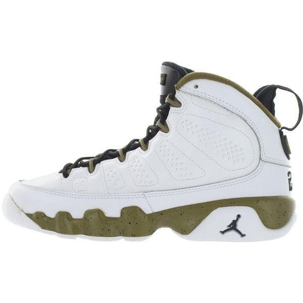 "best service 1a6e8 91101 ... Air Jordan 9 Retro BG  Air Jordan Retro ""Militia Green"" Collection ..."