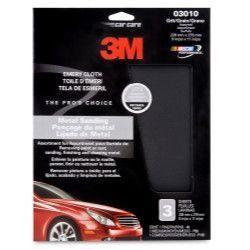 "3M 3M™ Emery Cloth Sheets, 9"""" x 11"""" - 3 Sheets per Pack MMM3010"