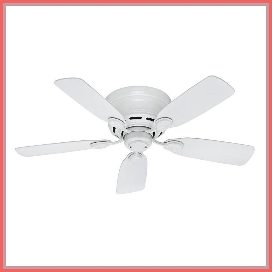 Outdoor Ceiling Fans Without Lights Flush Mount