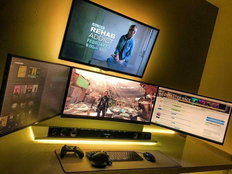 Gaming desks gaming gaming setup gaming room setup gaming
