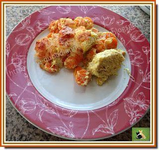 Vie quotidienne de FLaure: Quenelles de brochet au curry sur un lit de carott...