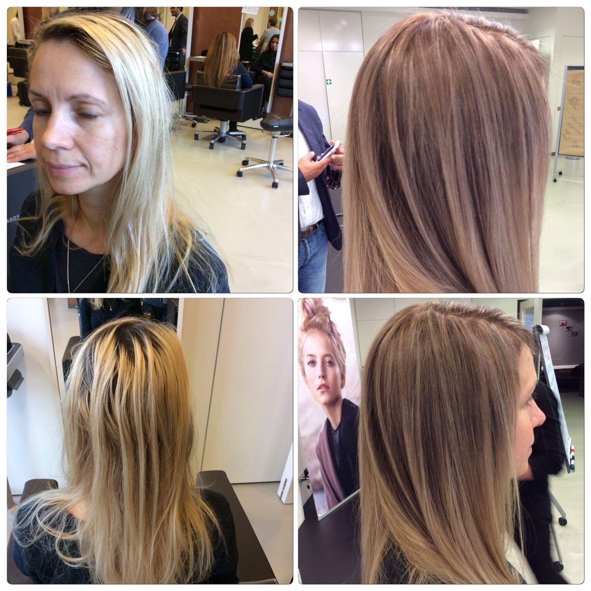 Glossing Haare Wella