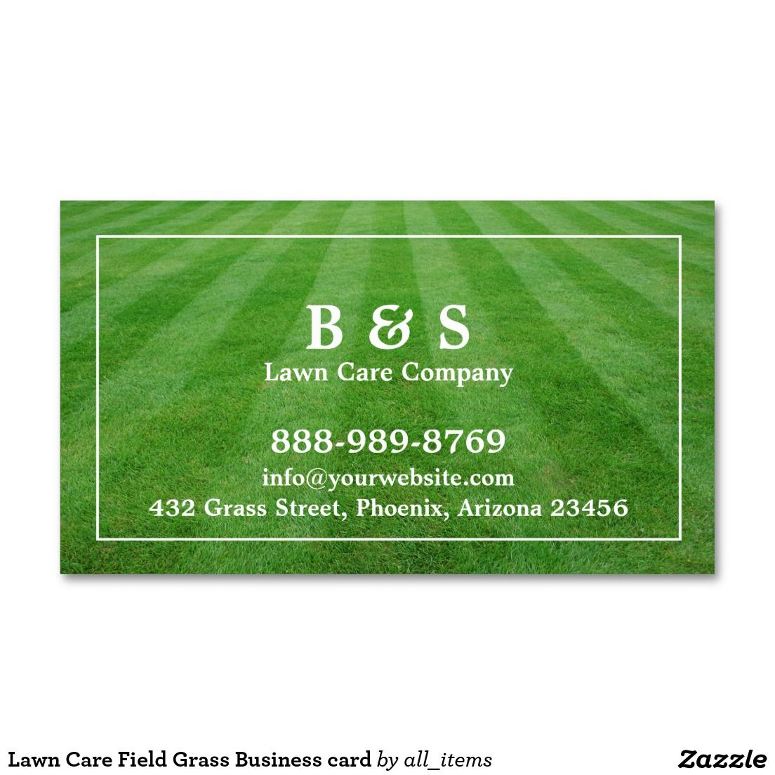Lawn Care Field Grass Business Card Lawn Care Business Cards And Lawn