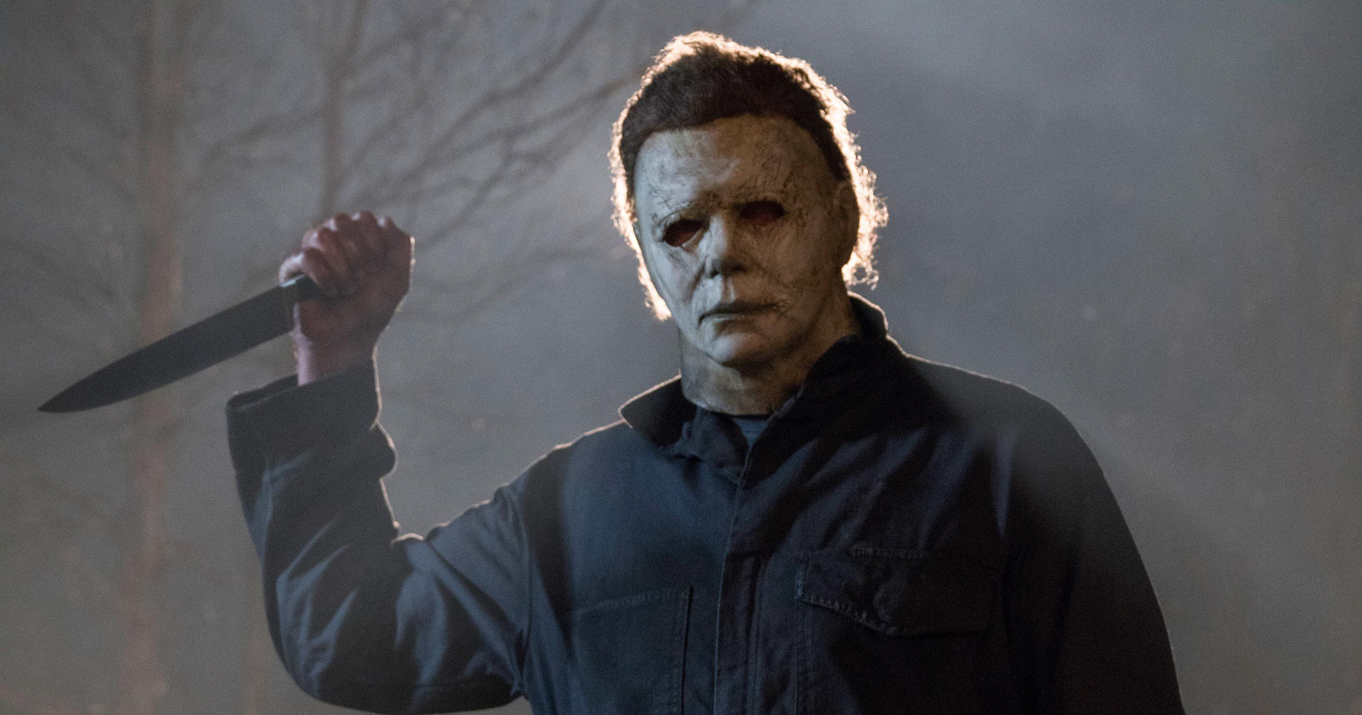 Halloween masked maniac Michael Myers stalks suburbia in