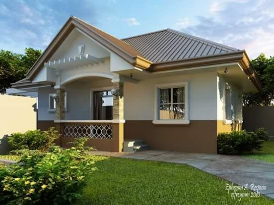 20 Photos Of Small Beautiful And Cute Bungalow House Design Ideal For Philippines Small House Design Unique House Design House Design Pictures