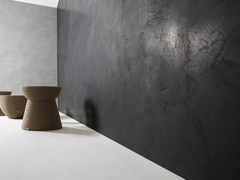 Revêtement de sol mur effet béton pour intérieur et extérieur - peinture exterieure sol beton