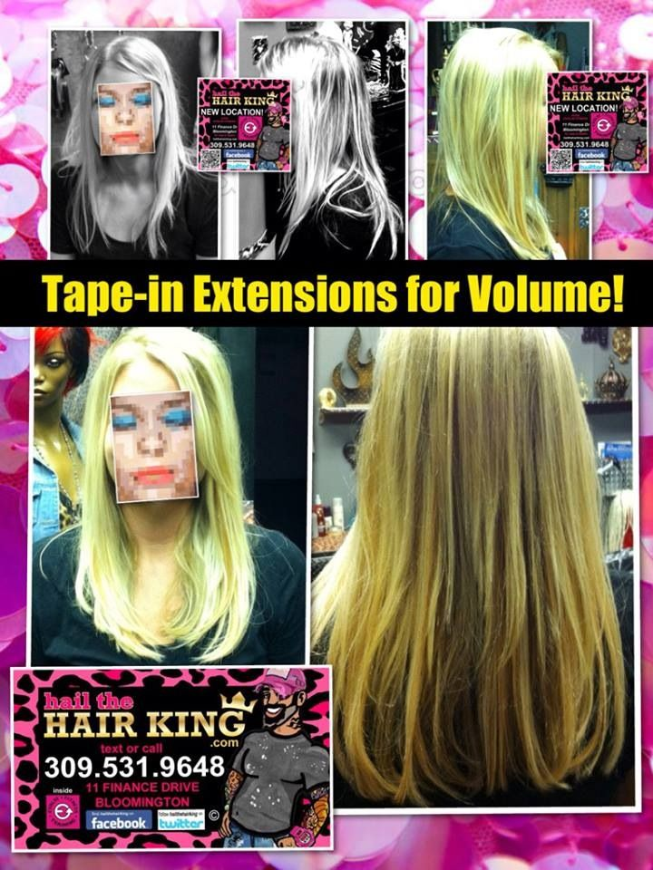 Tape In Extensions For Volume By Hail The Hair King In Bloomington