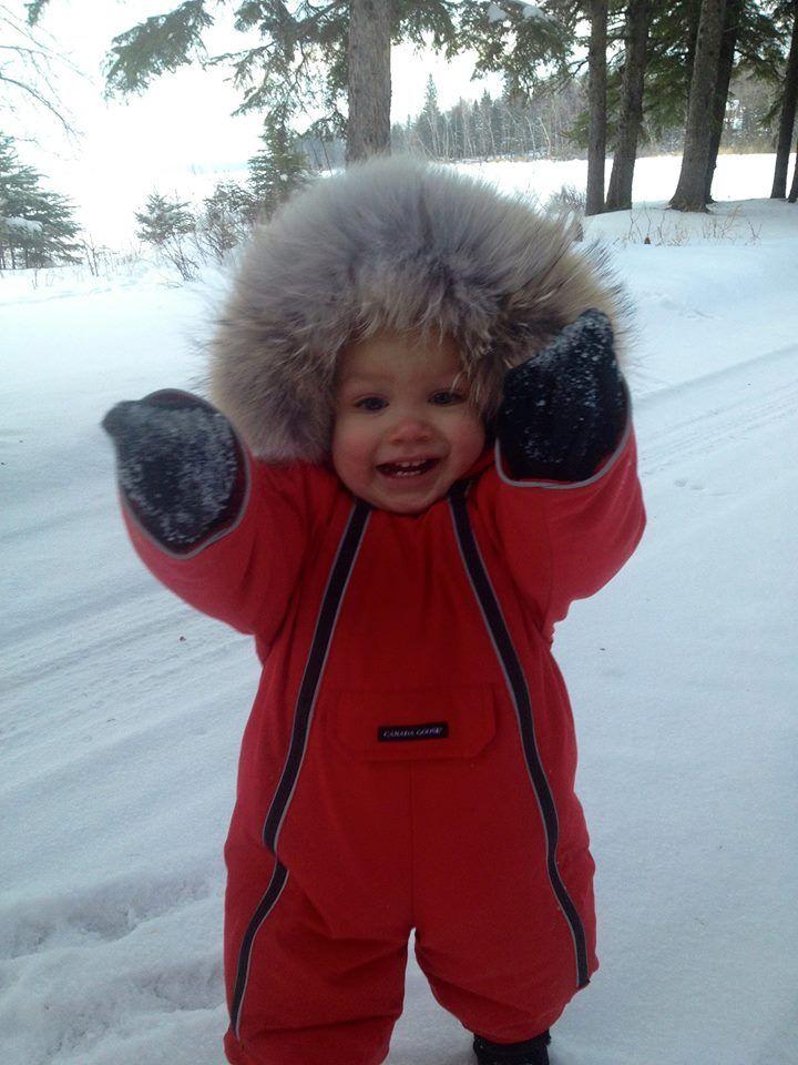 canada goose baby vest