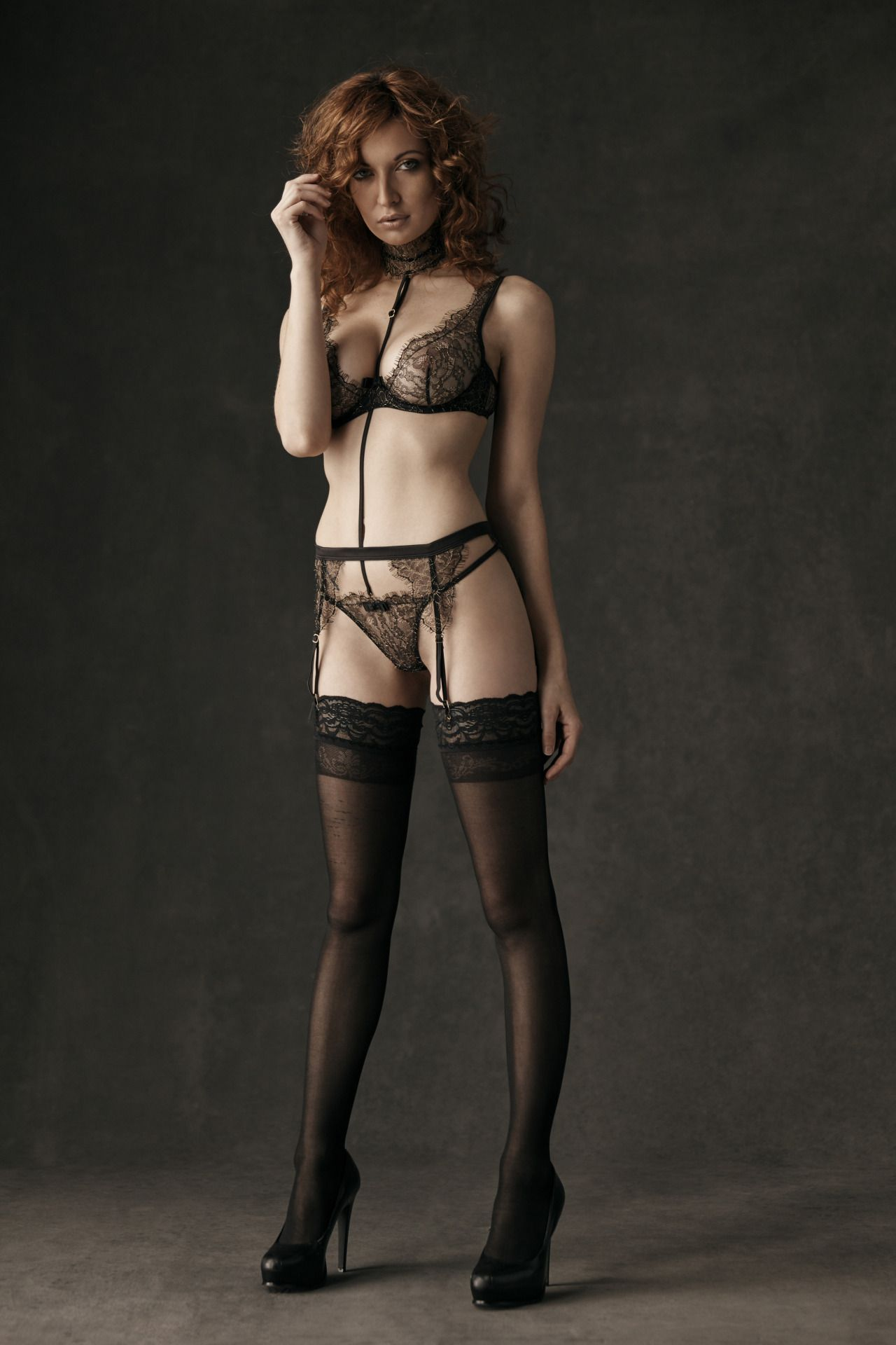 43587e6d68608 exclusivelyselectedlingerie  Richelle Oslinker (wearing Maison Close  lingerie) by Stowe Richards