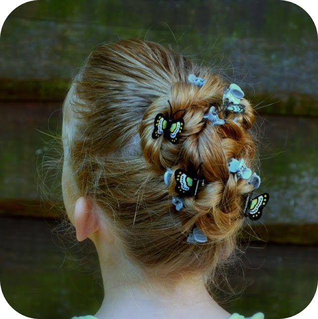 Grietjekarwietje: Snel haren opsteken