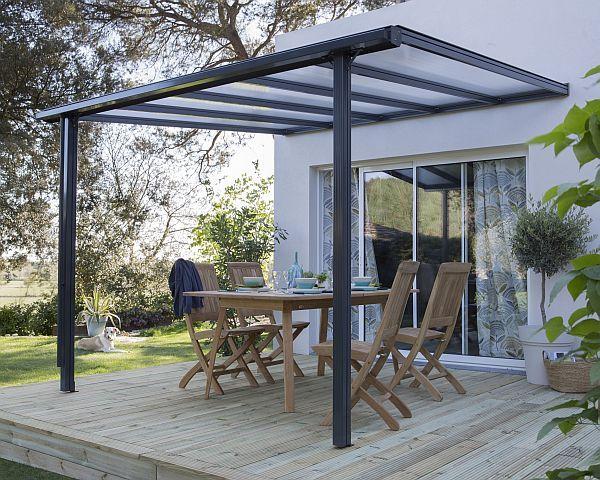 beckmann terrassen berdachung classic haloring. Black Bedroom Furniture Sets. Home Design Ideas