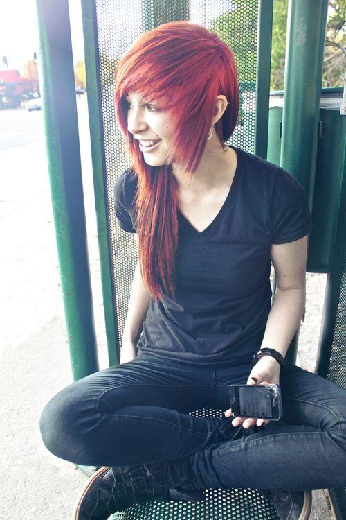 Strange 1000 Images About Lauren Von Reyes On Pinterest Scene Hair Her Short Hairstyles Gunalazisus