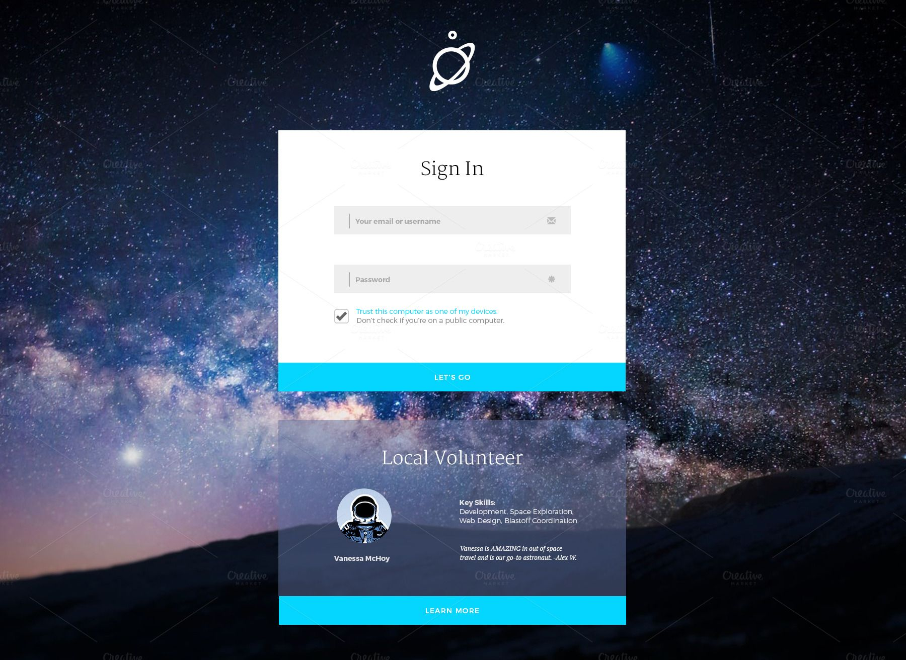 Sign In Login Screens With Images Login Page Design Login