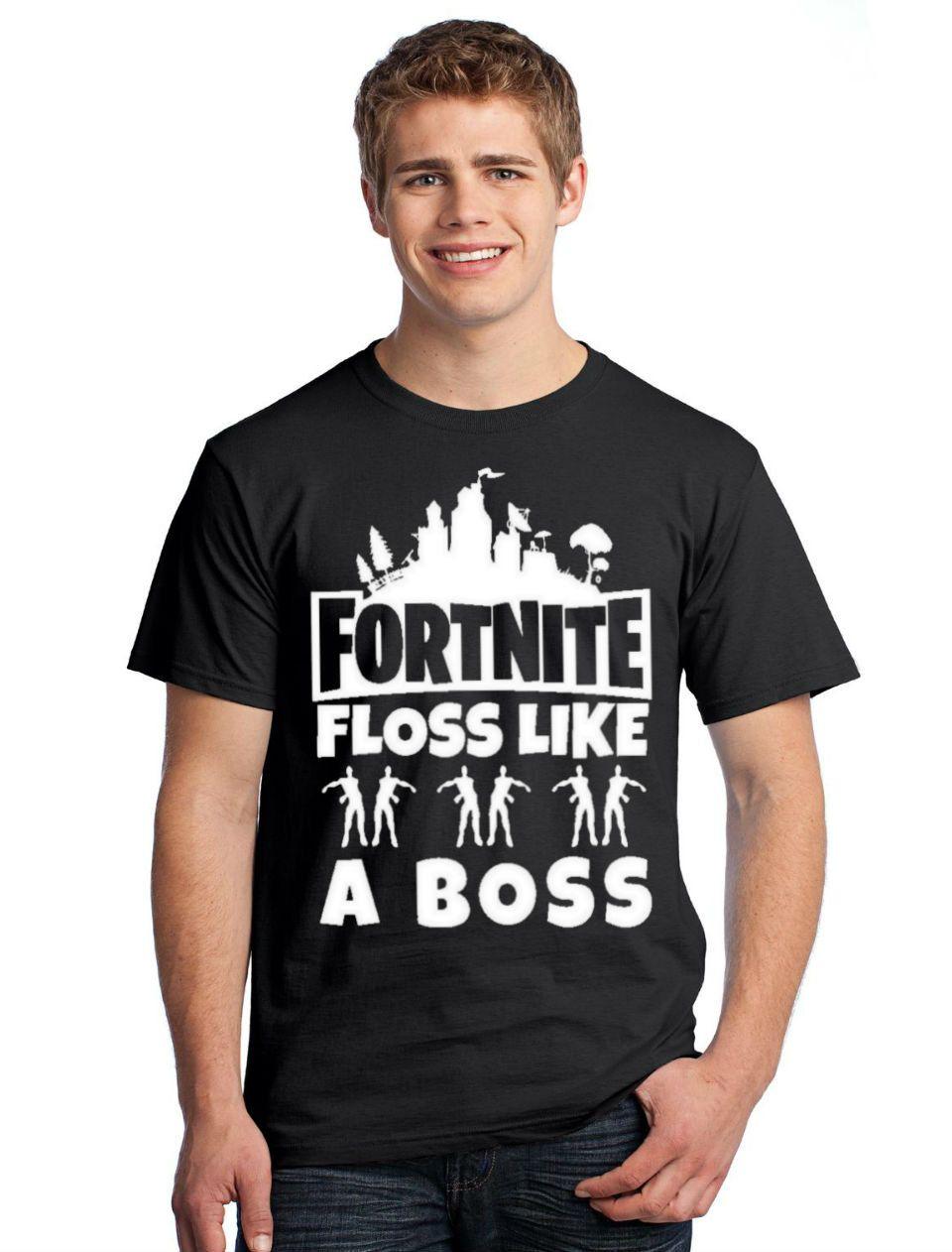 Fortnite Shirt Floss Like A Boss Shirt Fortnite Shirts By