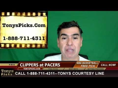 LA Clippers vs. Indiana Pacers Pick Prediction NBA Pro Basketball Odds P...