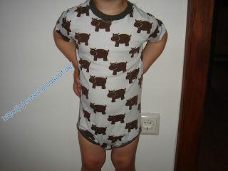Pyjama aus Nipferd-Jersey