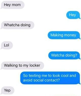 16 Mothers And Daughters Who Sent Each Other Some Seriously Funny Texts