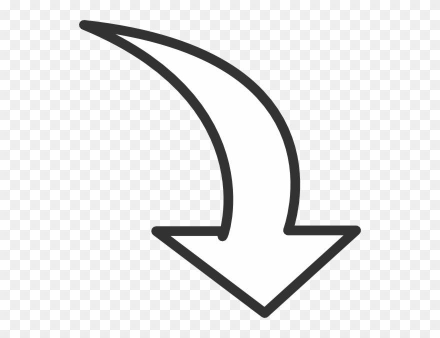 Circular Arrow Outline Free Arrow Clipart Png Transparent Png