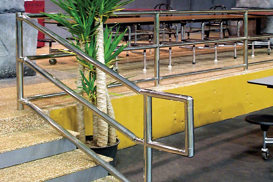 Stainless Steel ADA Handicap Railings by Atlantis Rail ...