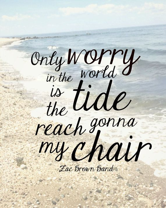 Zac Brown Band Beach Quote Etsy Beach Quotes Beach Captions Summer Quotes