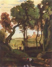 Castel Gandolfo - Camille Corot