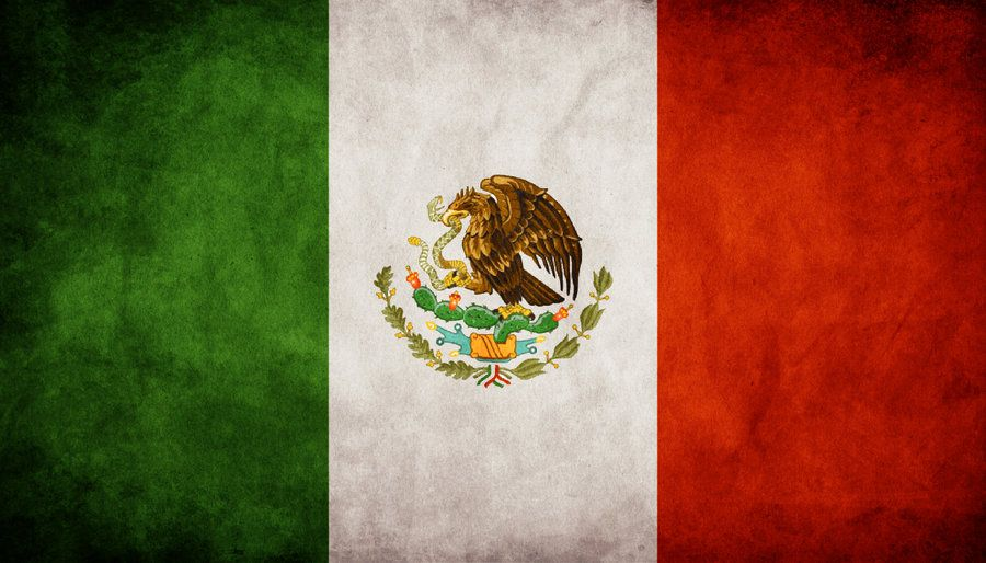 Mexico Grungy Flag By Think0 On Deviantart Mexico Flag Mexican Flags Flag