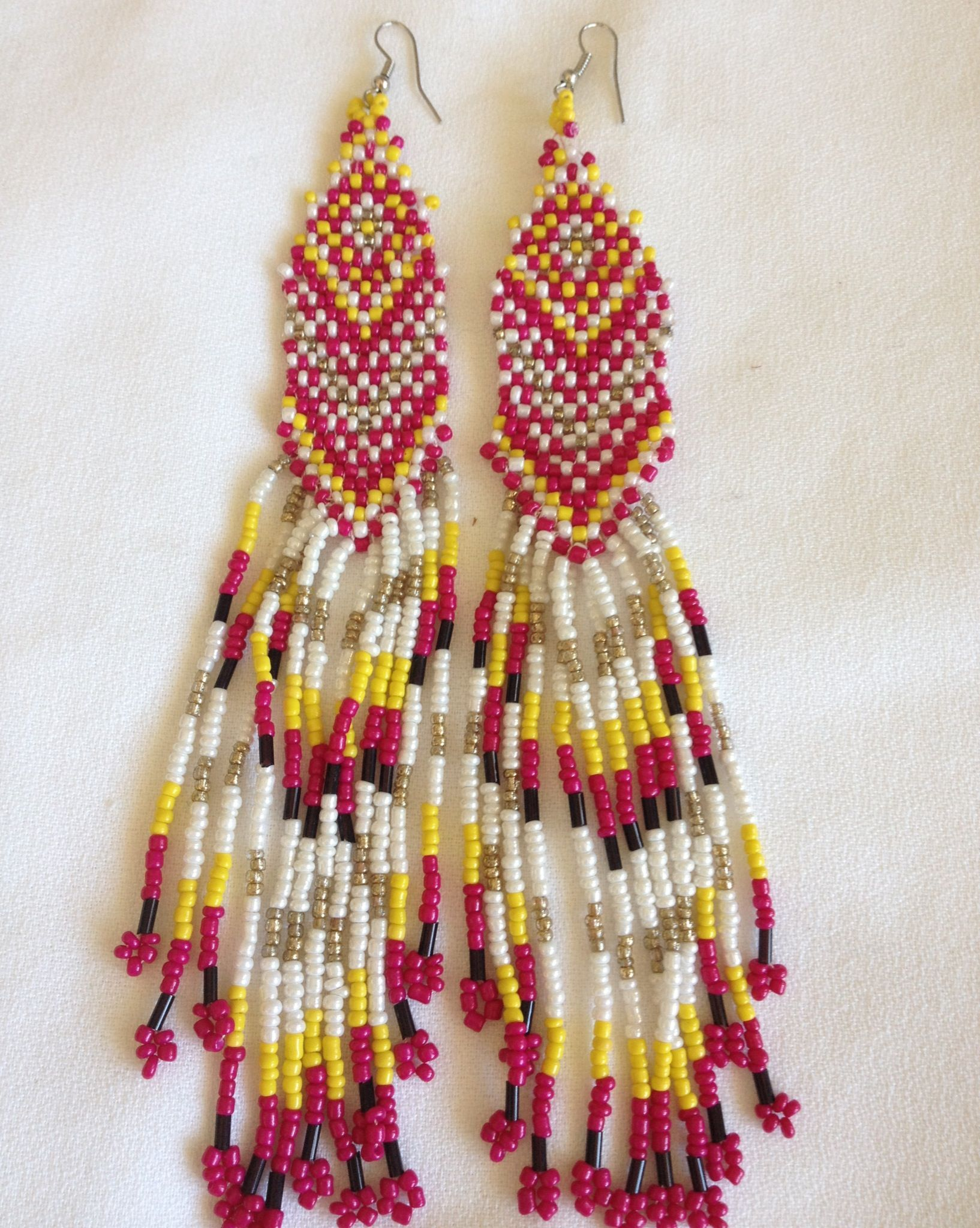 normal beaded jewelry bead gallery droplet in jcrew white lyst statement crew product earrings j