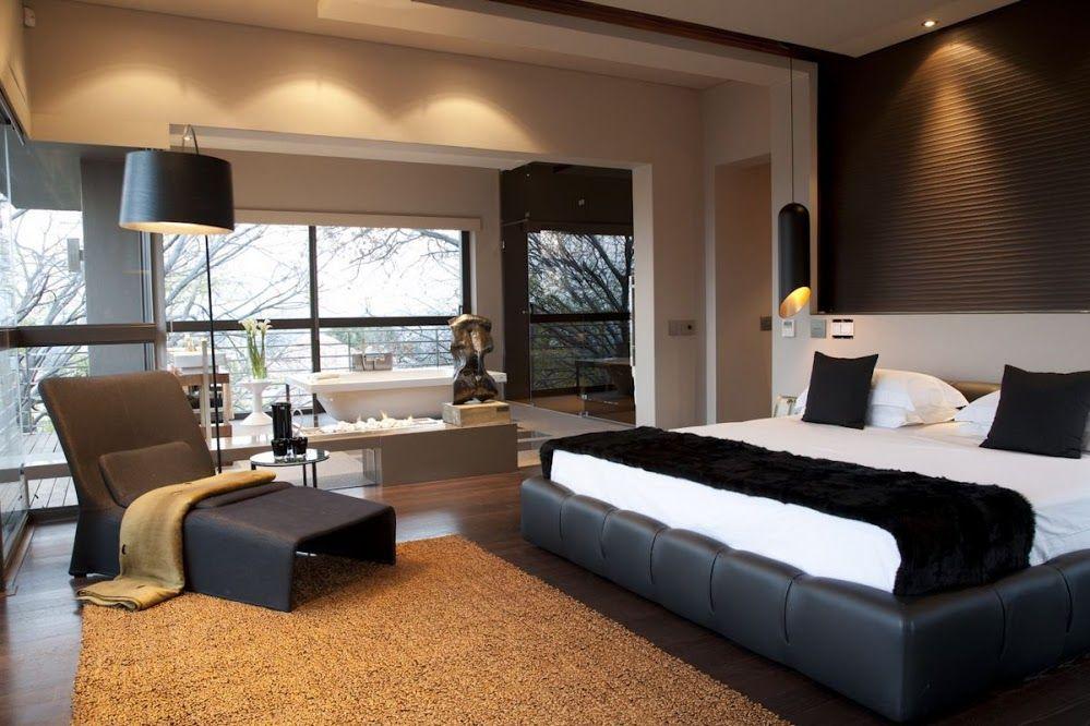 Dormitorio matrimonial moderno dormitorios Pinterest
