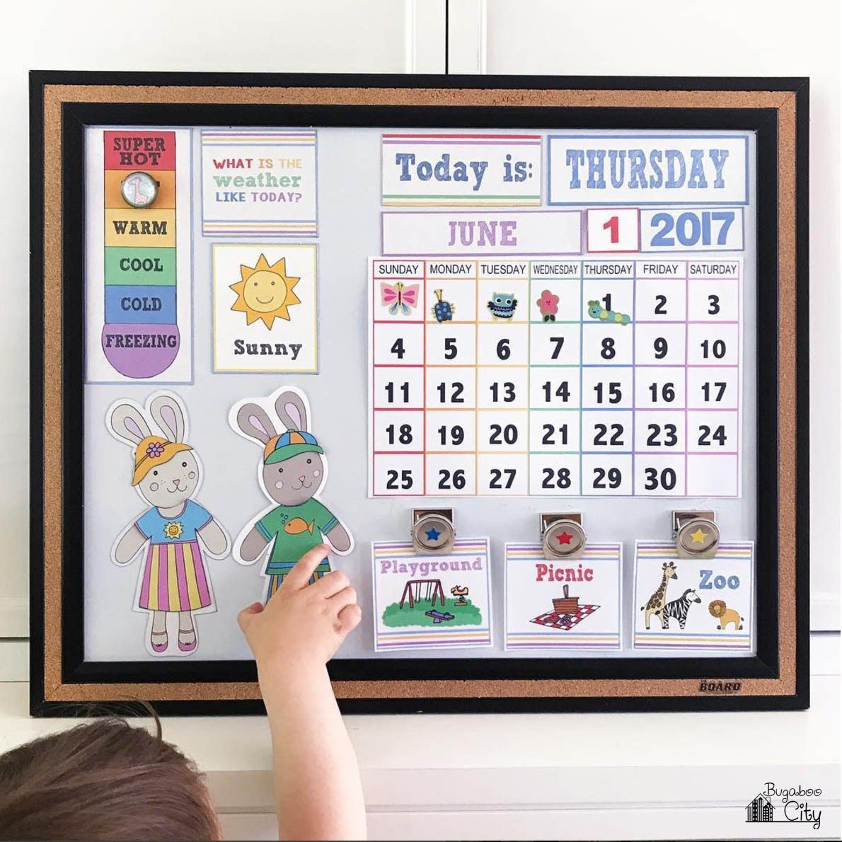 Diy Children S Calendar By Kids Calendar Homeschool Calendar