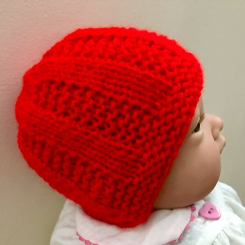 4aebbbbb2a4 Ravelry  Ben s Baby Hat pattern by marianna mel