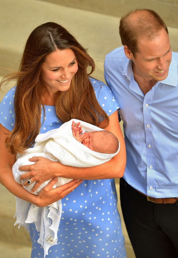 Royal baby blanket knitted by company which made Prince William and ...