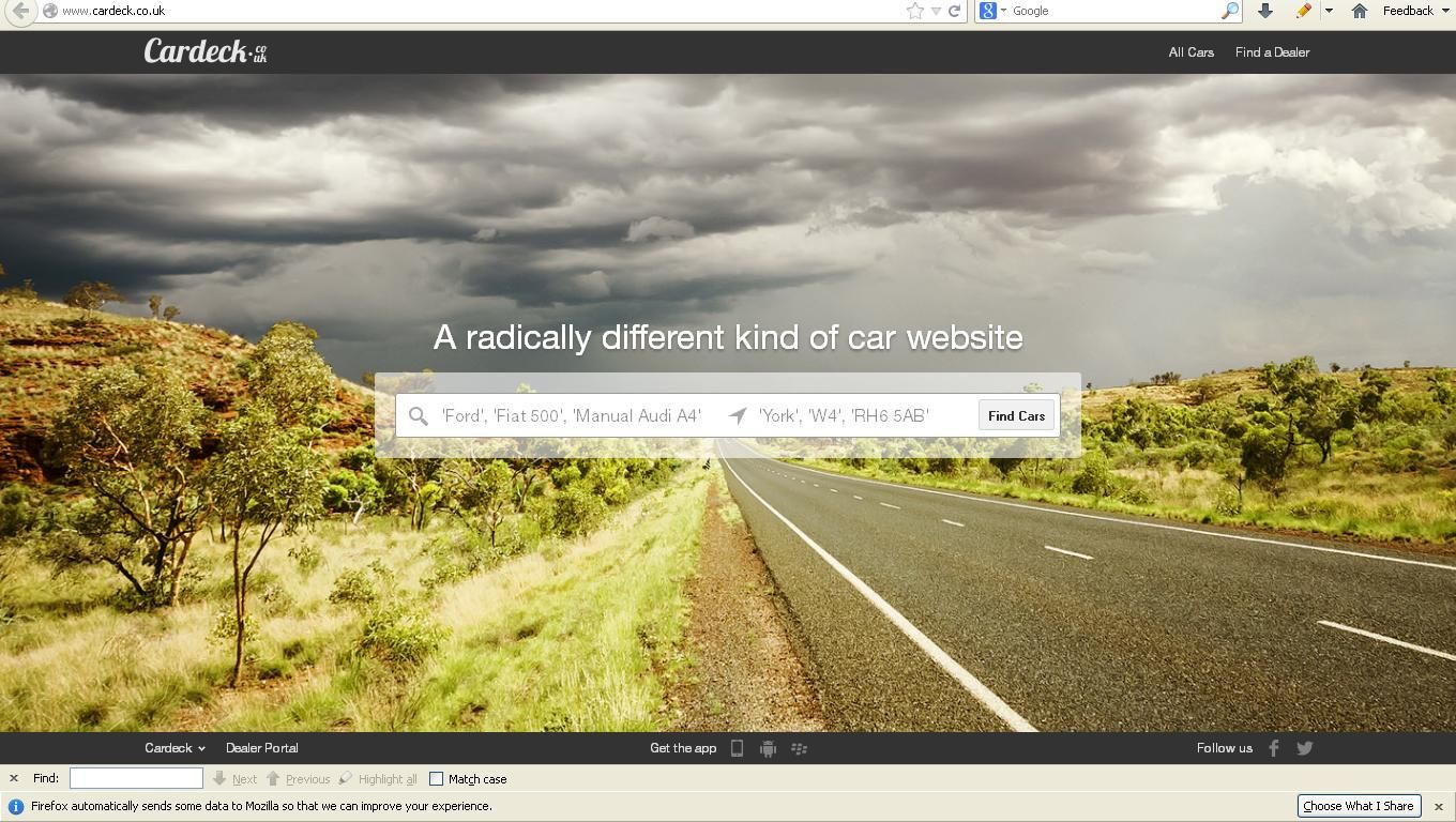Cardeck helps drivers find used cars online to suit their budget ...