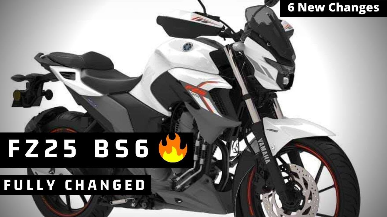 Finally 2020 Yamaha Fz25 Bs6 Is Here 6 New Changes