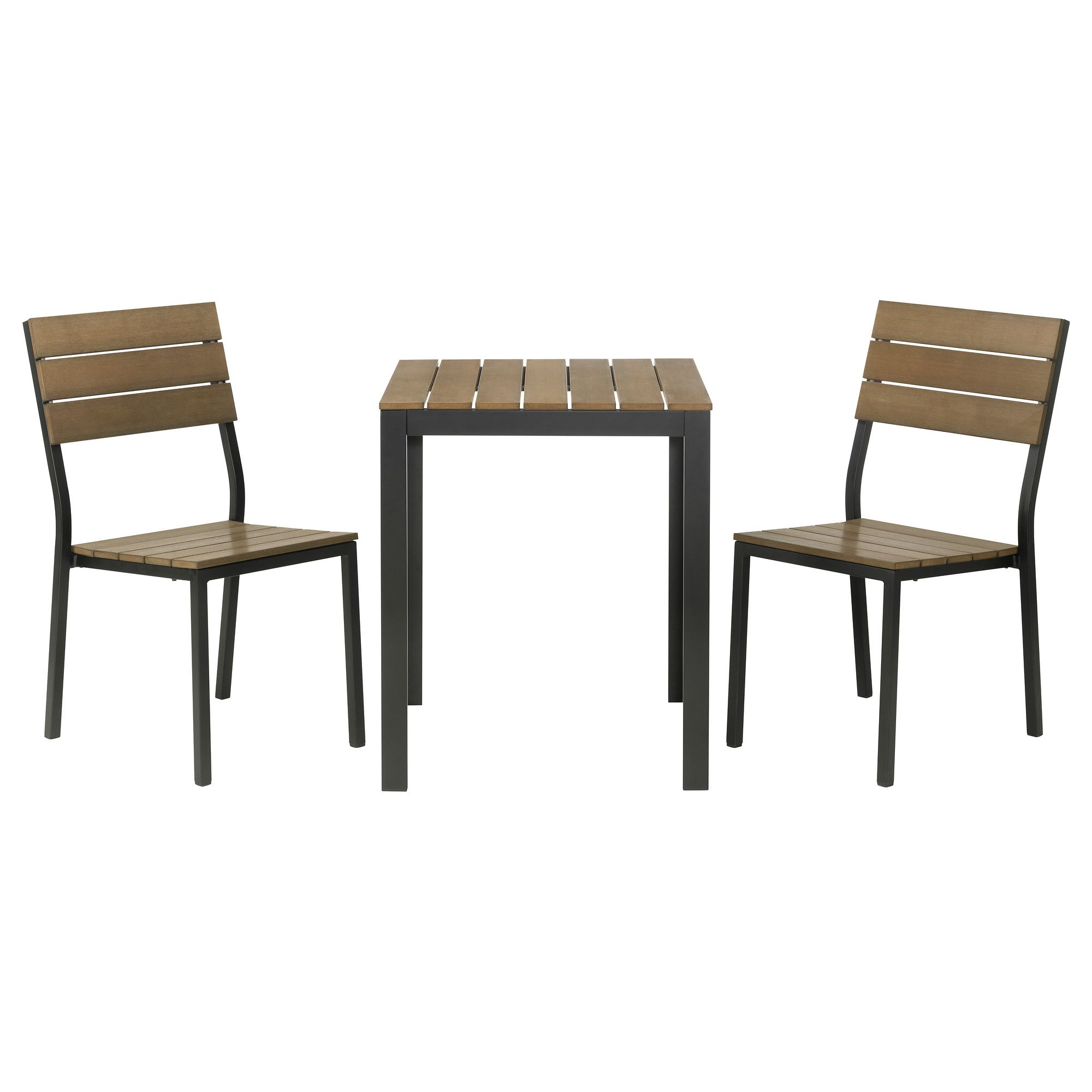 FALSTER Bistro set black brown $189 00 The price reflects