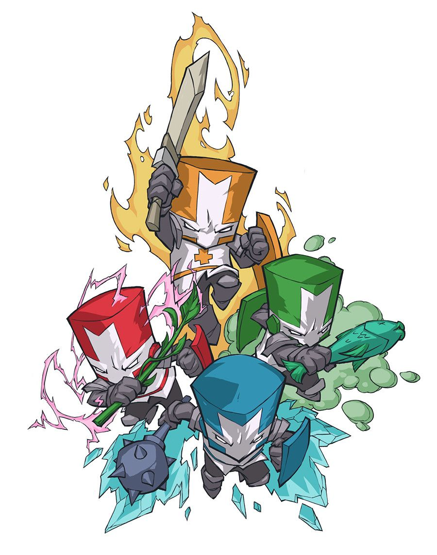 Pin By Henry Smith On Final Fantasies Other Games Castle Crashers Geeky Art Character Design