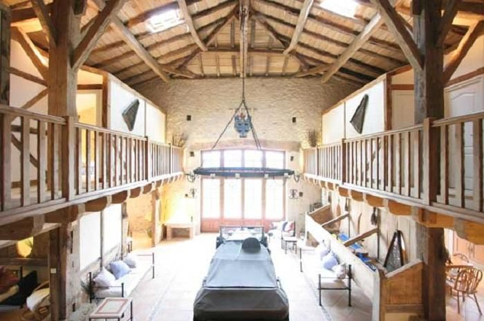 Architecture barns converted into post beam construction for Build your own pole barn home