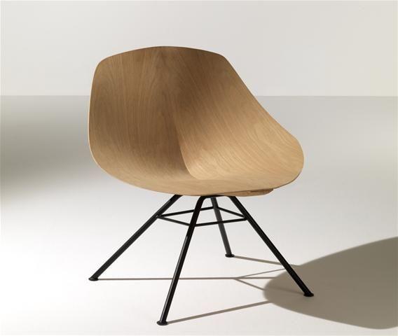 VintageCoque Multiplis À Chair De En Lounge Chêne Wing L'allure c54ARqj3L