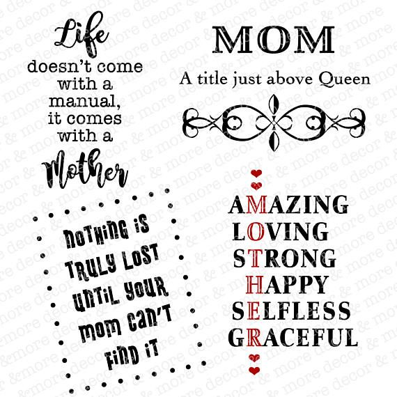 Free Mother's day is a global holiday that celebrates mothers, motherhood, and the mothers' influence in societies. Mother S Day Svgs Mother S Day Svg Files Mom Svg Verses For Cards Mothers Day Cards Mom Day SVG, PNG, EPS, DXF File