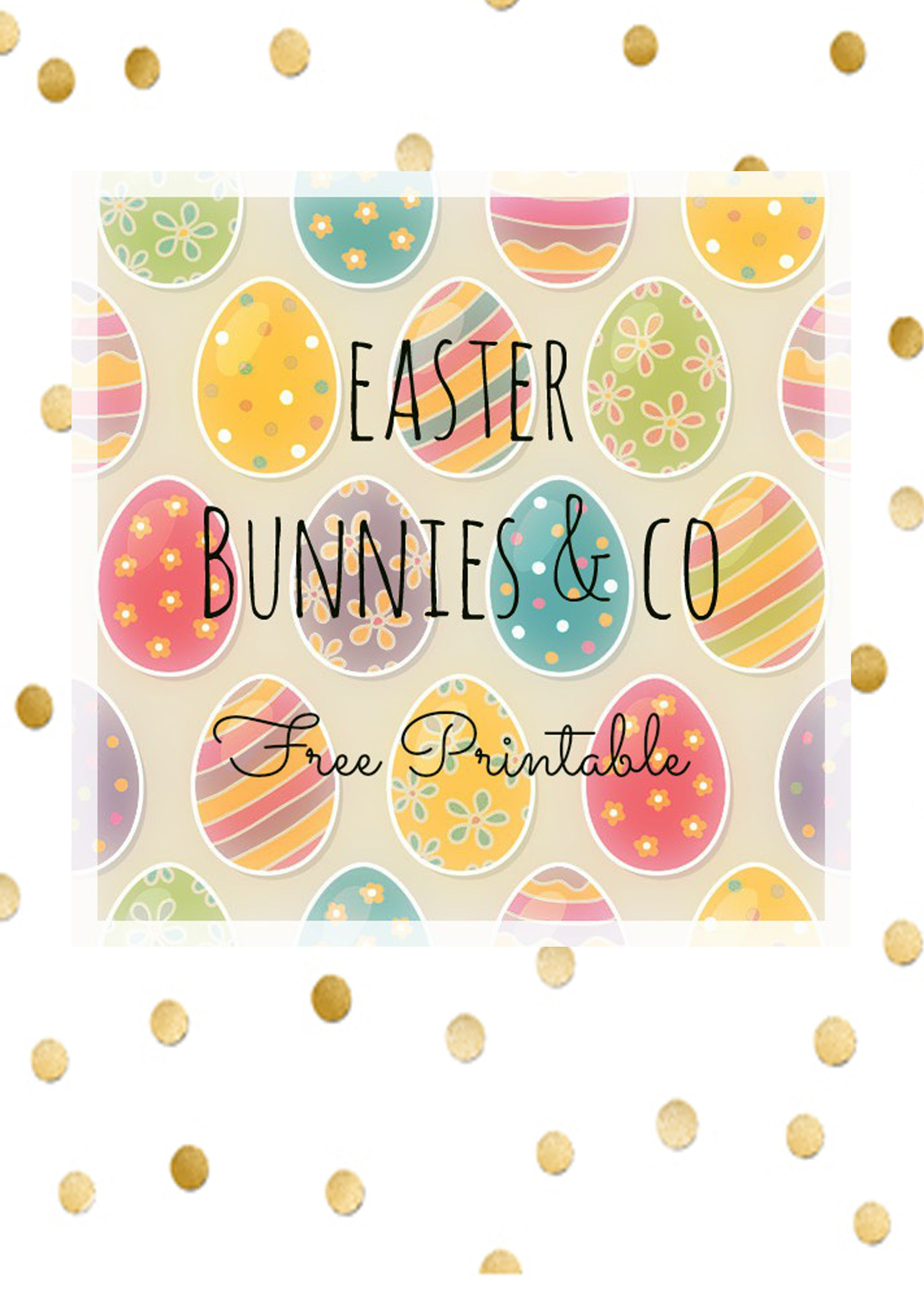 Piante Da Regalare A Pasqua arriva la pasqua! tags & bunnies per le vostre decorazioni