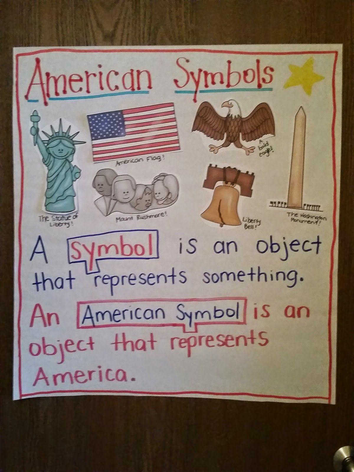 American Symbols First Grade Worksheets American Symbols