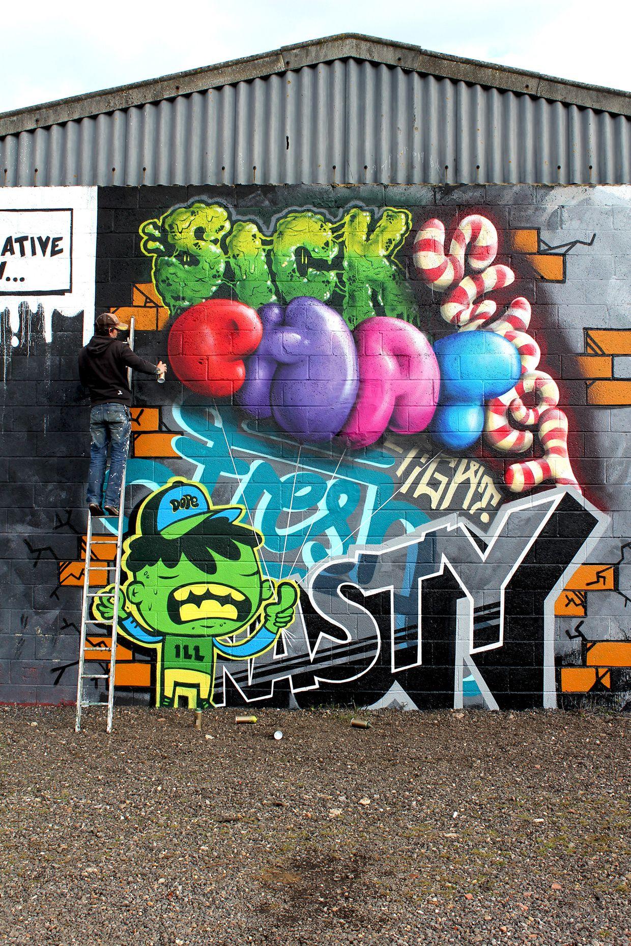 Vna x soulful advertising murals street art wall