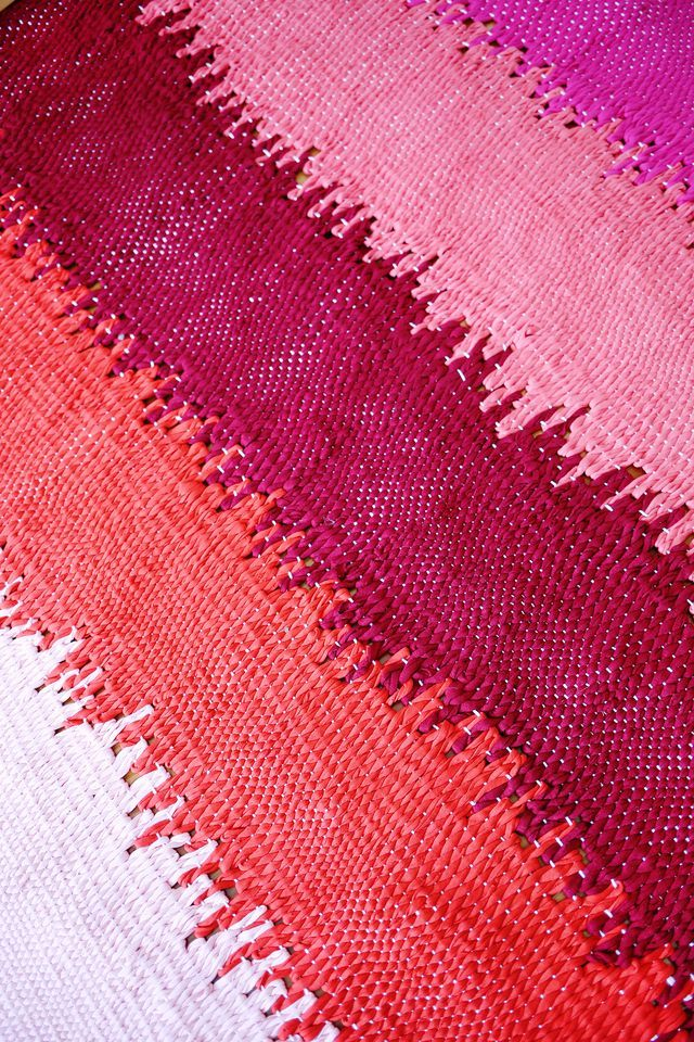 weave your own rug epic diy project