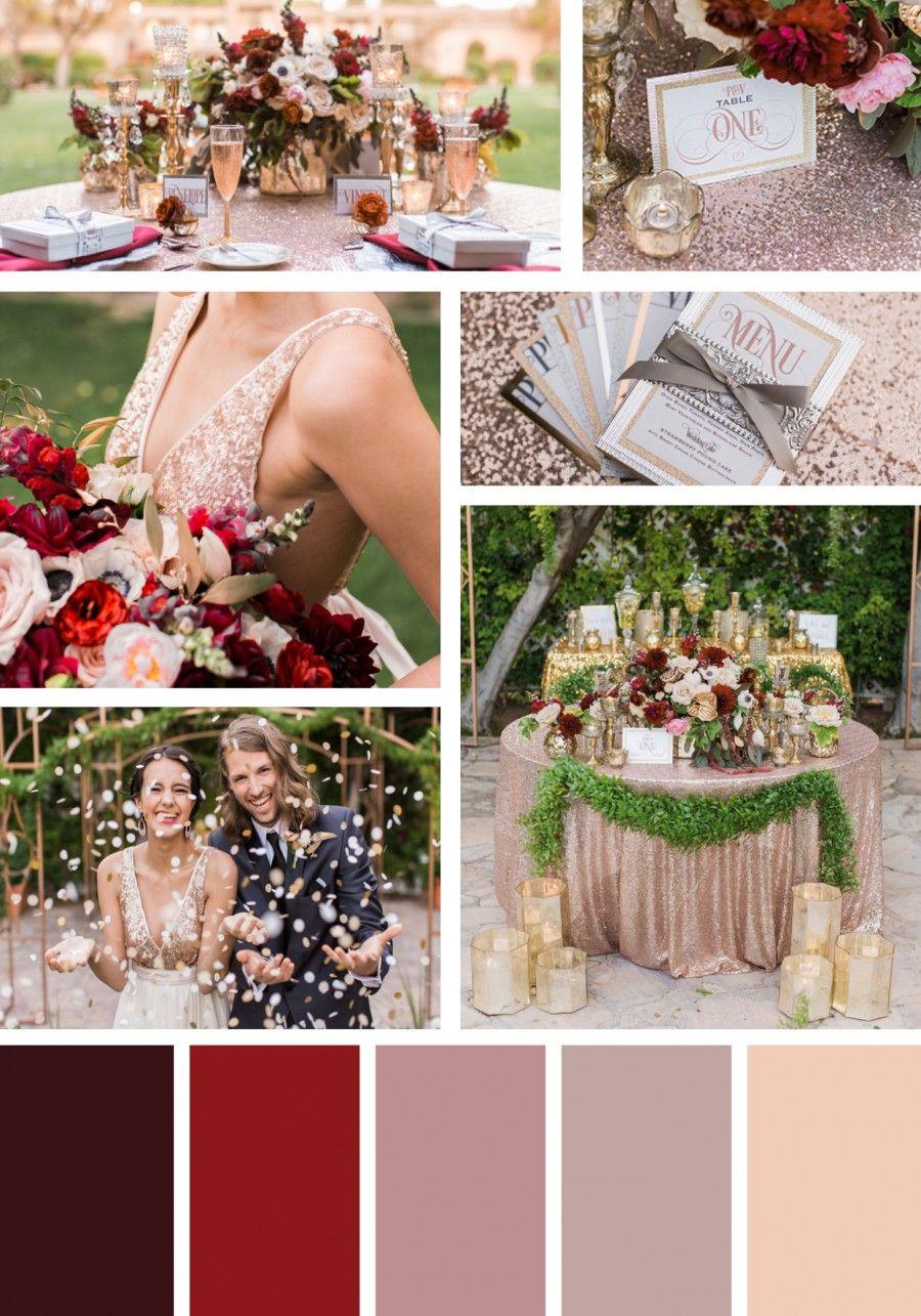 Christmas Wedding Colors.Pin On Wedding Ideas